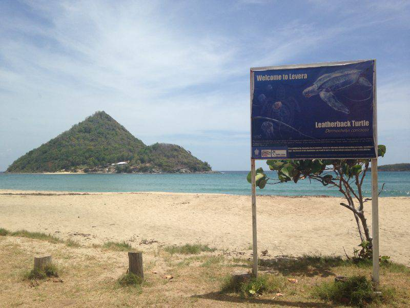 Levera turtle nesting beach is a tourism attraction and Ramsar site