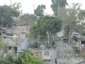 Neighbourhood scene in Port-au-Prince, Haiti, February 2011
